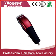 AC motor rechargeable professional hair cut machine electric hair clippers