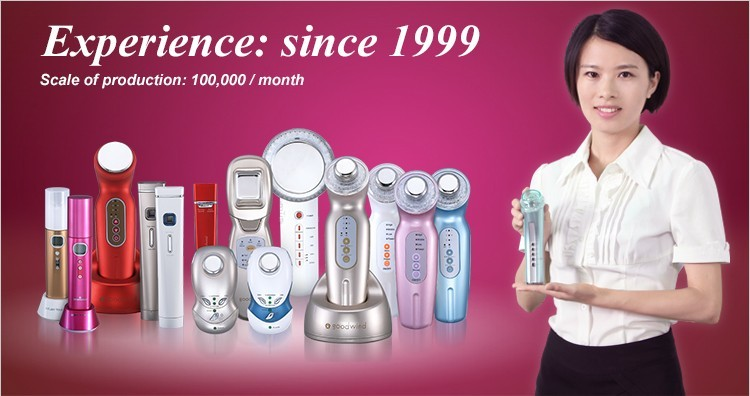 Ultrasonic Face Firming and Body Slimming Beauty Instrument