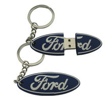 ODM/OEM Promotional ford pvc usb flash memory for gift