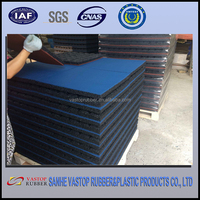 Environmently Friendly Outdoor Recycled Rubber Paving