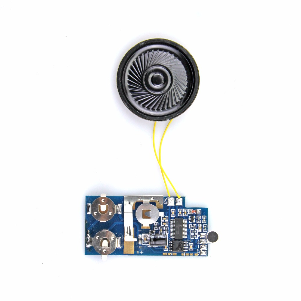 Bluetooth voice speaker sound module music chip for greeting card