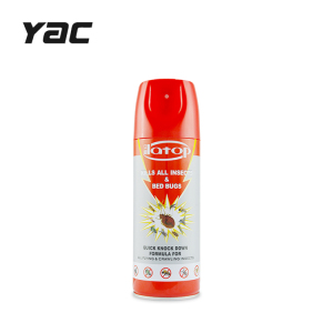 Oil based flying insect killing insecticide spray