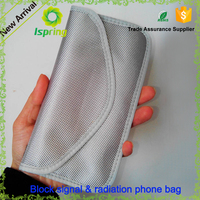 2016 hot selling mobile phone anti radiation pouches