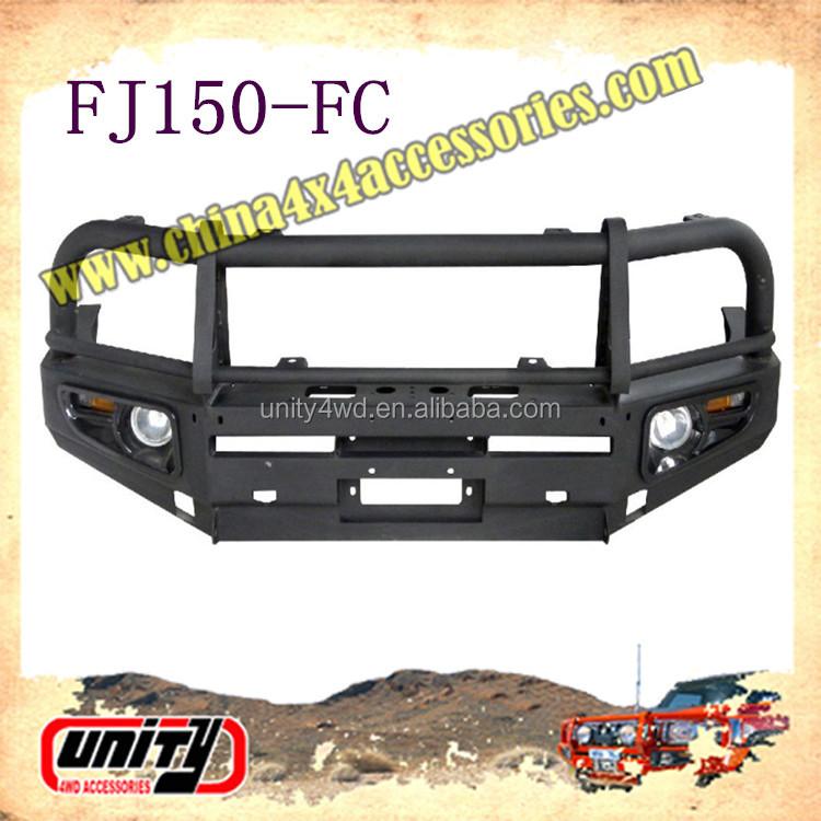 For Land Cruiser FJ150 truck front Bull Bar steel metal bumper