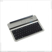 Alibaba Express With Magnetic Stripe Wireless Bluetooth Keyboard for iPad Mini 2 P-iPDMINIBTHKB007