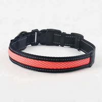 2019 hot sale pet products flashing rechargeable led dog collar