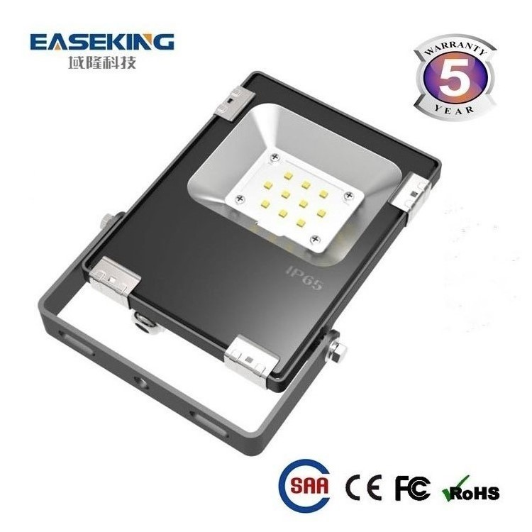 New Design SMD IP65 10w Led Flood Light With Motion Pir Sensor Saa Ce Rohs Approved