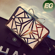 Indian clutch purses wholesale fashion evening bags hollow out ladies party handbags EB387