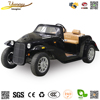 Old style 4 seats jeep 4 wheel electric vintage car with powerful motor