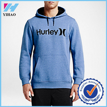 YIHAO MENS BODYBUILDING HOODY HIGH QUALITY LABOUR CLOTHING MUSCLE TRAINING GYM WEAR MENS FLEECE PULLOVER HOODY