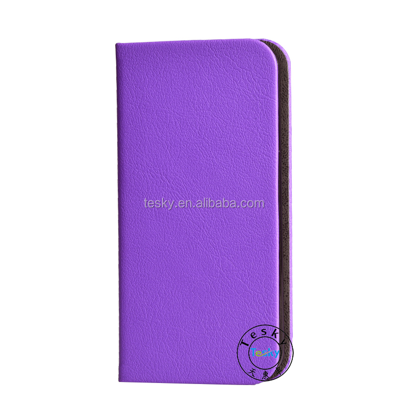 Cell Phone Case For Ipod Touch 6,Wholesale Cover Case For Ipod Touch 6 Leather Flip Case Skin Cover Purple