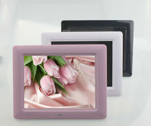 Play photo/video/music+remote control 7'' digital photo frame