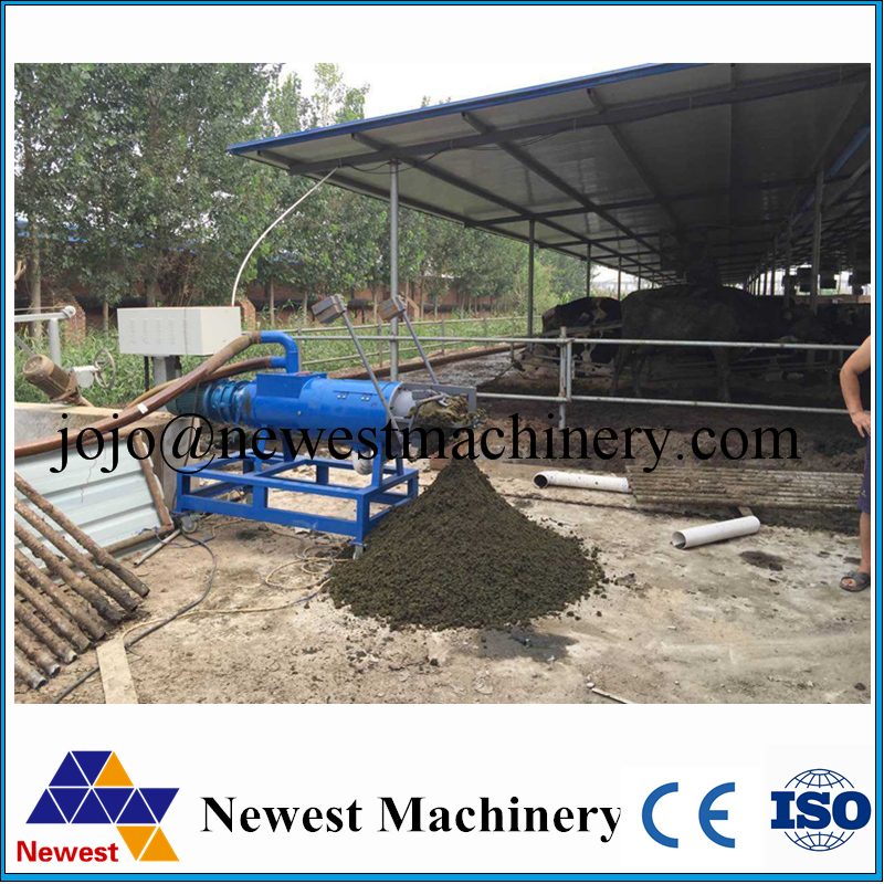 Solid-liquid separator for animal dung/poultry manure water separating machine/solid and liquid separate machine