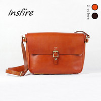 Popular Western Style Ladies Genuine Leather Shoulder Bag Women Tote Hand bag Lady Handbag