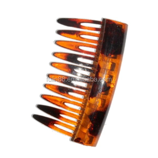 wholesale Morden lice hair comb black mens plastic magic laser hair comb