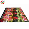 wholesale 3d printed pure polyester bright colors thick fabric
