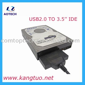 2.5''/3.5'' IDE TO USB2.0 Adapter