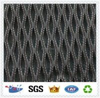 D078 two color polyester nylon mesh rib mesh netting