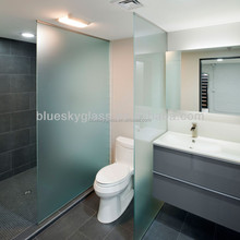 Australian standard 12mm Shower room partition glass with CSI certificate