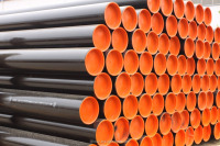 ERW steel pipe with API 5L API 5CT Standard for oil and gas transportation