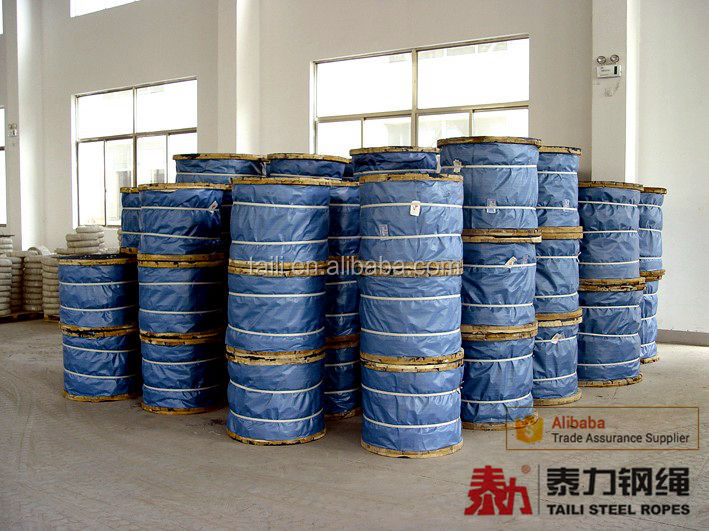 Ungalvanized and Galvanized steel wire rope, wire cable, steel cable