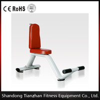 CE approved fitness equipment/Shandong Tianzhan pin loaded gym machines/wholesale professional Utility Bench