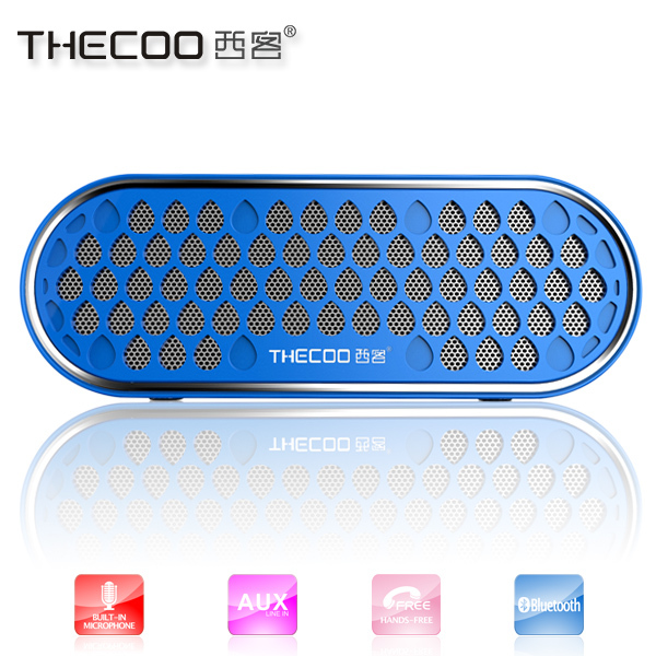 Portable bluetooth speaker dual stereo speakers mobile phone with cheap price for promotional