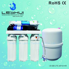Best Selling Factory Pressure Guage RO 3.2G Tank Water Purifier Auto Flush Home Use RO Purifier Water Filter