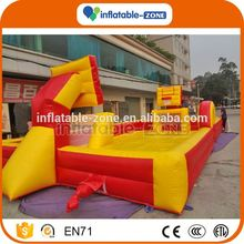 China wholesale hot selling inflatable basketball court inflatable bungee basketball
