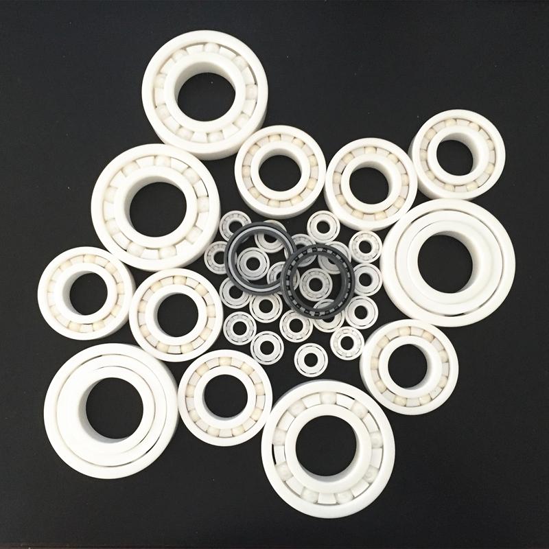 6005 Full Ceramic Bearing  ZrO2 Ball Bearing 25x47x12mm  Zirconia Oxide