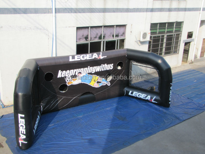 PVC inflatable football door for adult inflatable dolls