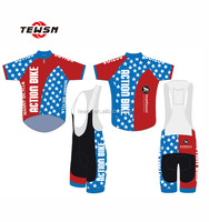 cycing jersey sets design for bike team, elastic cycling wear elastic cycling wear, national flag styles