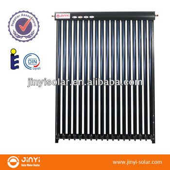10 Tubes Solar Keymark EN12975 Support Heat Pipe Solar Collector Price