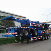 WONDEE brand 3 Axle 40 Ton Skeletal Container Trailer Chassis