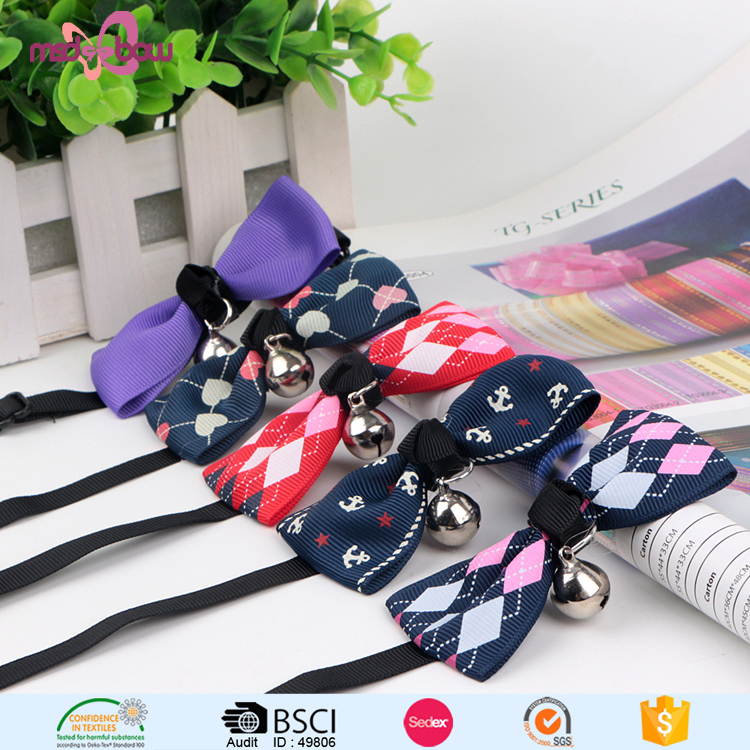 Wholesale dog grooming bow ties product pet accessories collar