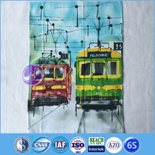 100% cotton digital printing for tea towel