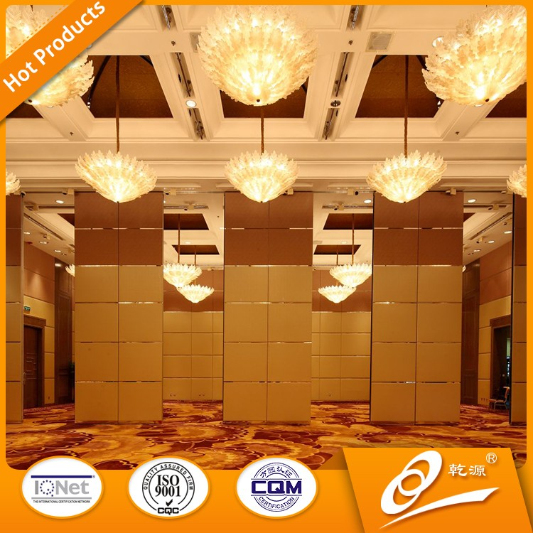 Movable Sound Proof Partition Wall For Hotel And Office