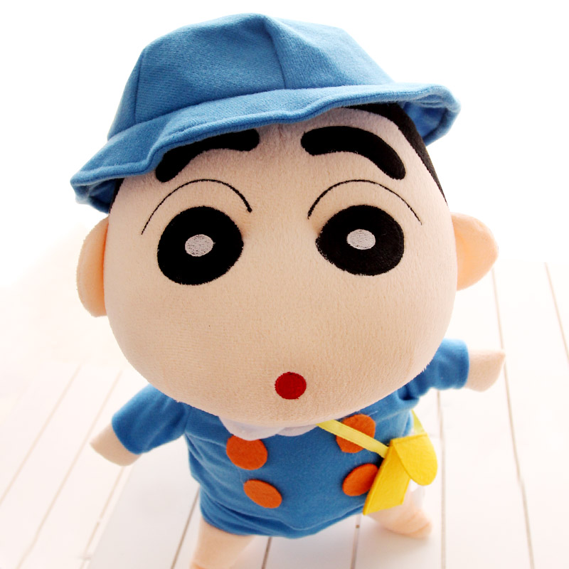Cute creative soft cartoon character plush toys of crayon shin chan