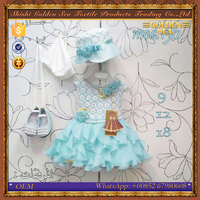 2016 New Arrival Children Clothing Summer Latest Party Wear Dresses For Girls