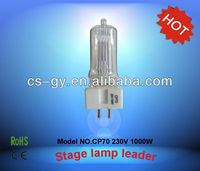 halogen optic lamp CP70 1000W GX9.5 ceramic base