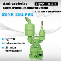 air operated sewage pump drived by air compressor pneumatic pump price