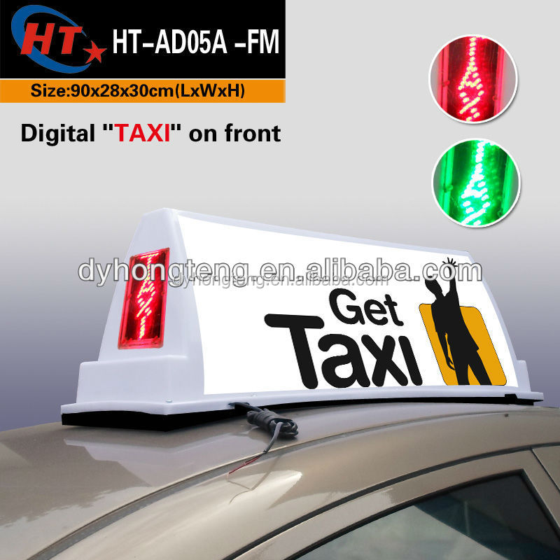 led tube light digital taxi led top light