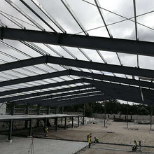 2017 Prefabricated Warehouse Building in Light Steel Structure