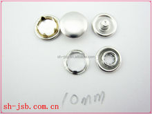 fashion clothing five brass prong snap button
