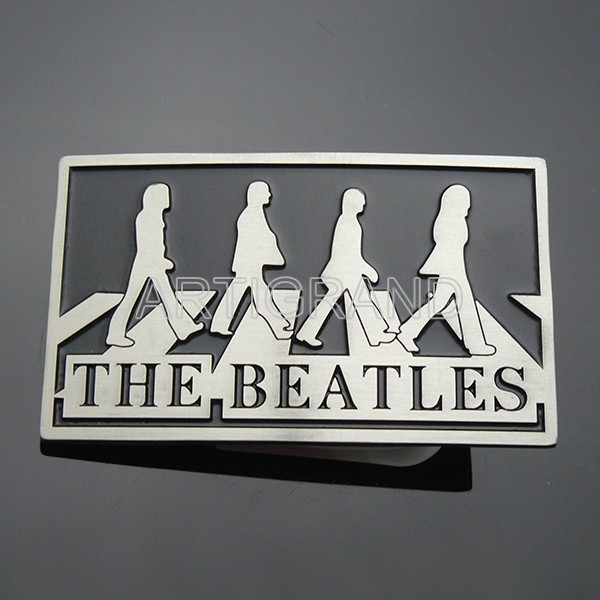 The beatles band rock music belt buckle for men