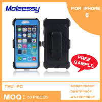Dustproof simple cell phone covers for iphone 6 4.7