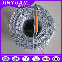 High quality low price Hot-dip/Electro galvanized Barbed wire made in China