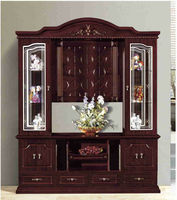 Living room furniture mechanical tv lift stand (700516)