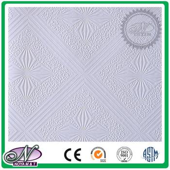 Unique punching designs new decor gypsum board for ceiling for wholesales