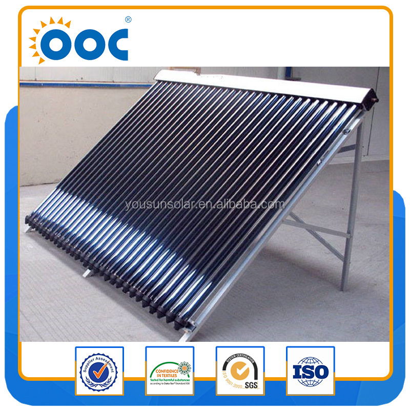30 Tubes Thermodynamic heat pipe parabolic solar collector